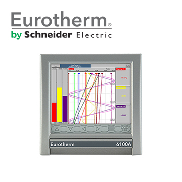 Eurotherm 6100A & 6180A Paperless Graphic Recorders