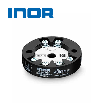 INOR APAQ C130 Digital 2-wire transmitter for Pt100 and Pt1000 with wireless communication