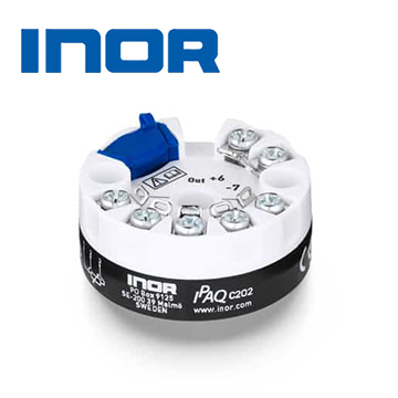 INOR IPAQ C202 / C202X PC-Programmable 2-wire Transmitter for Pt100 Input