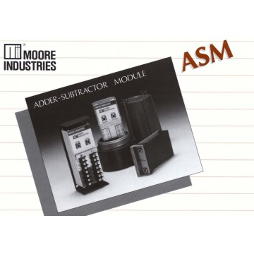 Moore Industries - ASM, Adder/Subtractor Module, 4-wire (ac or dc power)