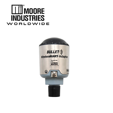 Moore Industries BULLET® WirelessHART® Adapter for Use with Wired HART® Field Devices
