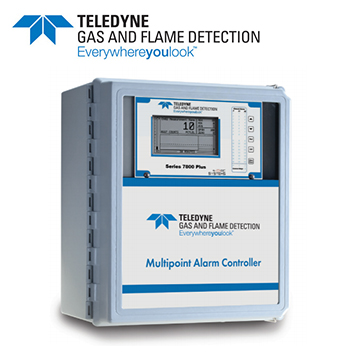 Teledyne 7800 Series- Multichannel gas & flame monitoring system